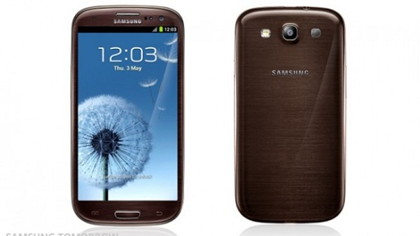 Amber brown Samsung Galaxy S III shows up in new colors