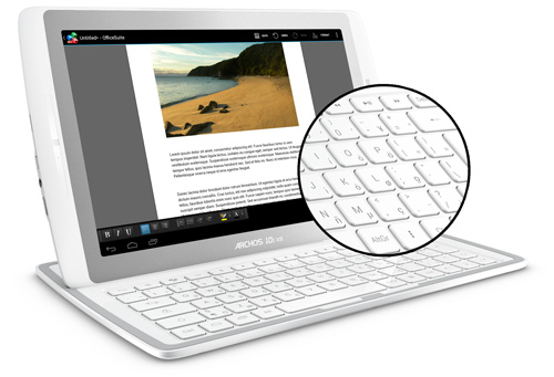 Archos g101 xs keyboard Archos 101 G10xs review and specifications