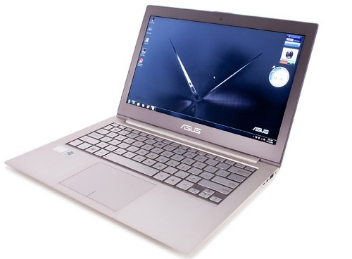 Asus zenbook Top five ultra books for 2012