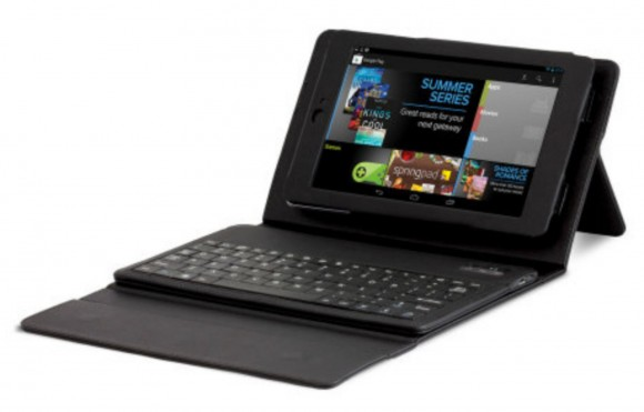 Genuine Google Nexus 7 Bluetooth Keyboard Case 580x371