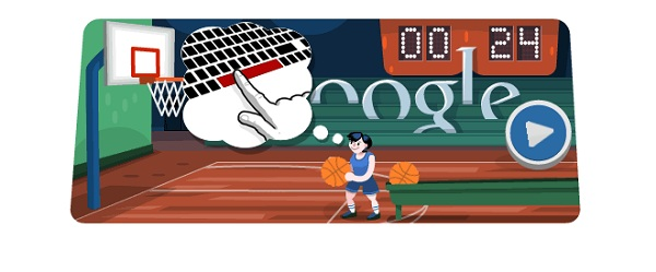 Google Basketball Google Olympics Doodles