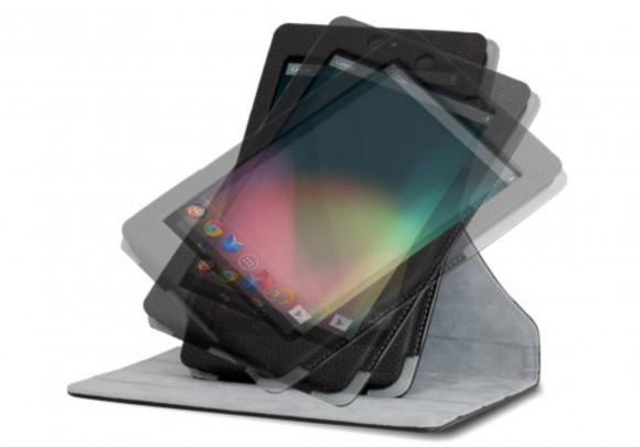 Official Google Nexus 7 Rotating Stand Case 580x405