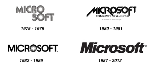 Previous logos Microsoft Logo Makeover