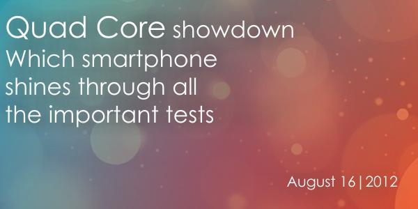 Smartphones Banner Quad core Smartphone Showdown