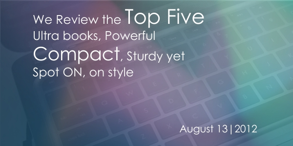 Ultrabooks Banner Top five ultra books for 2012