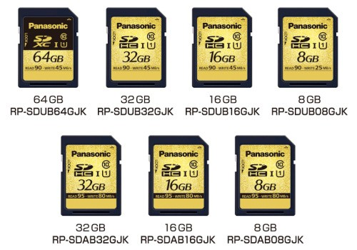 panasonic rugged sd cards Super SD card in works by Panasonic, Survives High temperature, water and X rays