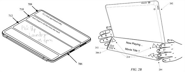 patent 120802 3 Apple to add Secondary Display in Smart Cover