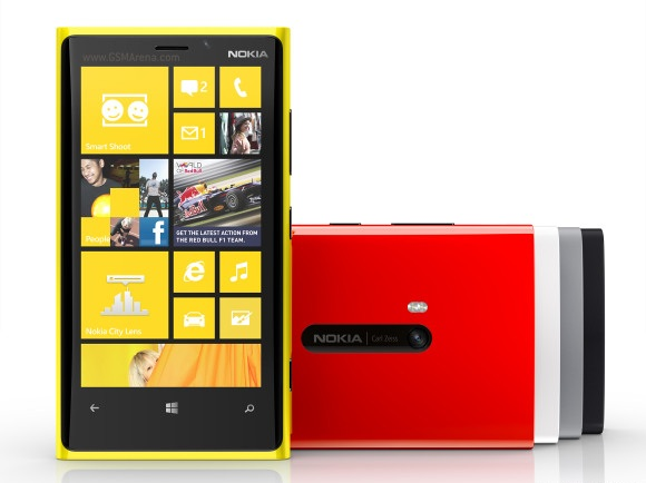 Nokia Lumia 920 Nokia Announces Lumia 920 and 820, detailed specifications inside