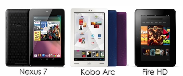 Untitled 1 7 Inch tablet comparison nexus 7 vs Kobo Arc vs Fire HD