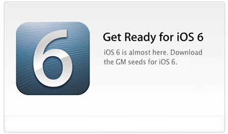 iOS 6 GM Gold Master Jailbreak Download iOS 6 for iPhone 5, 4S, 3GS, iPod Touch and iPad
