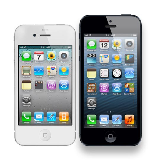 iPhone 5 vs iPhone 4S comparison