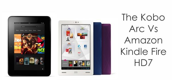 kindlevsarc Kobo Arc Tablet and Glo and Mini e readers   Review