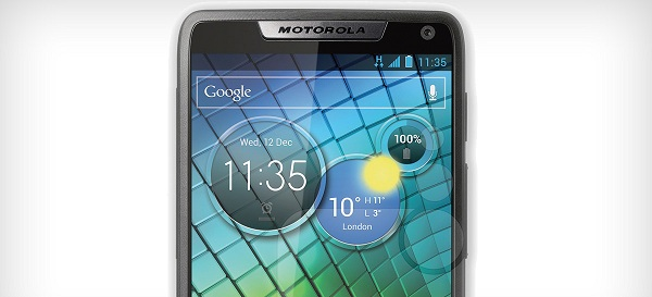 motorola razr i1 Motorola RAZRi Powered by Intel ATOM
