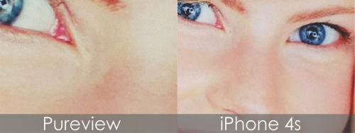 pureview vs iphone
