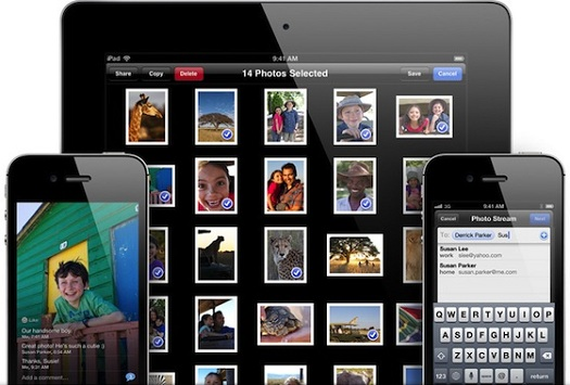 shared photo streams iOS 6 features, Whats New & Improved?