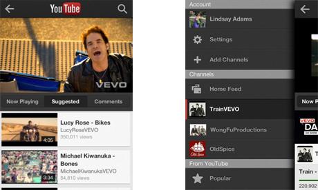youtube app New YouTube app for iOS released