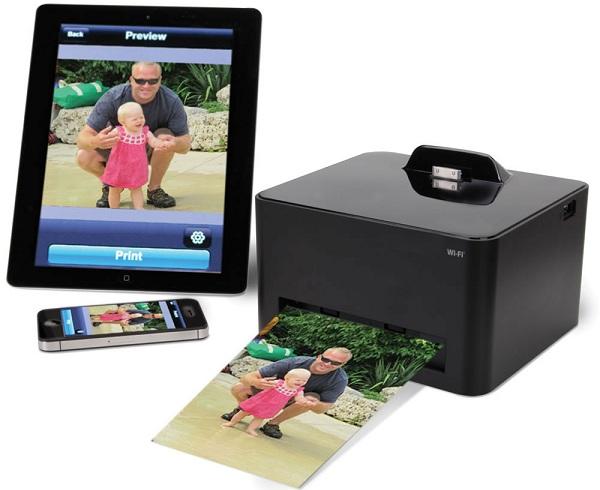 600 x 490 Wireless Smartphone Photo Printer