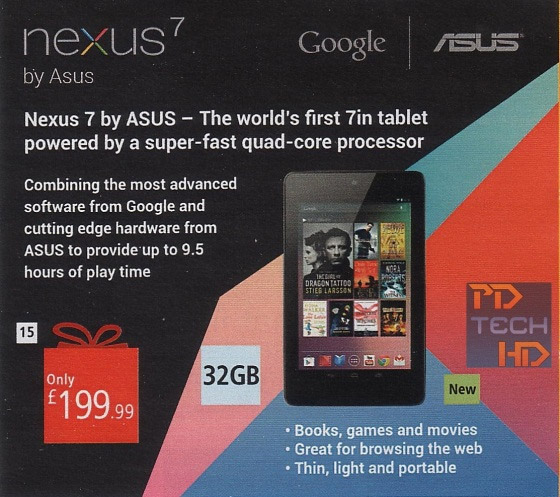 Nexus 7 32 Google Sends out invitation to its event, rumor roundup