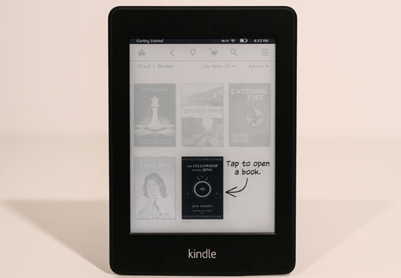 kindle paperwhite interface Amazon' Paperwhite ebook reader review