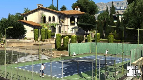 GTA V screenshots Tennis Pre orders for Grand Theft Auto V, trailer and screenshots inside