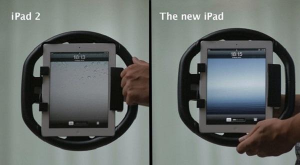 Kolos steering wheel Turn your iPad into a steering wheel console with KOLOS