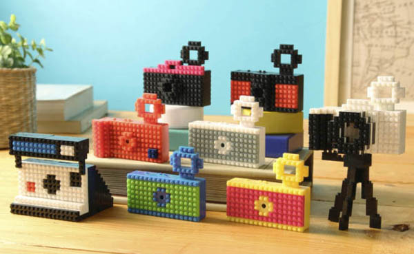 Fuuvi Nanoblock Lego Camera