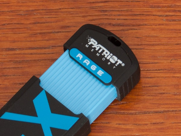 hole Patriot Super Sonic Rage 32GB flash drive review