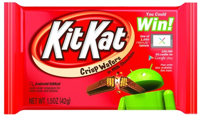 kitkat android Google Names Android 4.4 KitKat
