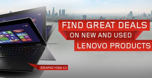 lenovo deals Save up to 70% on Laptops with Lenovo Outlet Deals