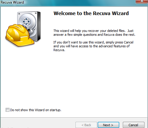 rec1 Recover Your Lost Files, Data Using Recuva for Free