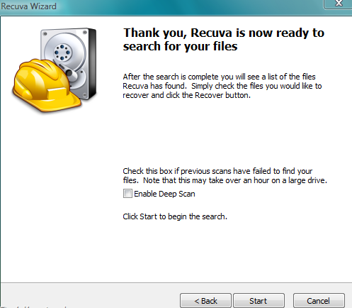 rec41 Recover Your Lost Files, Data Using Recuva for Free