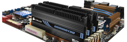 corsair on motherboard Memory (RAM) with Intel Core i7