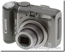 image thumb Canon Powershot A590 IS