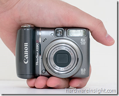 image thumb5 Canon Powershot A590 IS