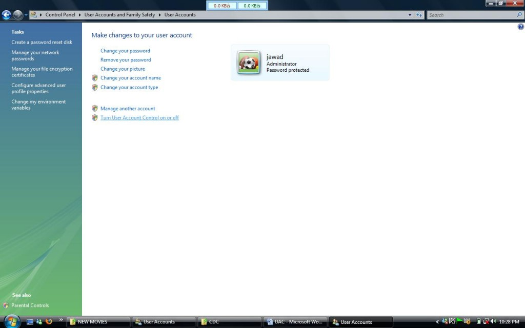 uac 2 1024x640 How to turn off User Account Control in Windows Vista