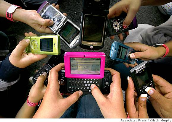 cell phones Gadgets without which people can not live