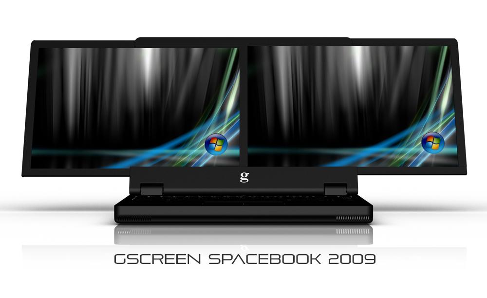 GSCREEN G400 Spacebook GScreen Spacebook 2009