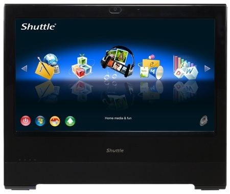 Shuttle X5 Shuttle releases X500V Touch Screen All in One with Linux