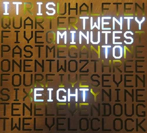 word clock A digit less Clock