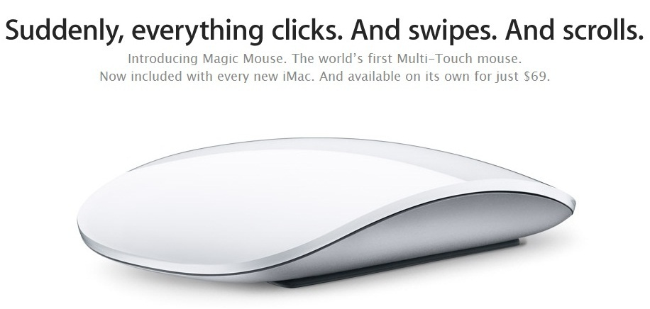 apple mouse Apple releases the new iMAC   All In One