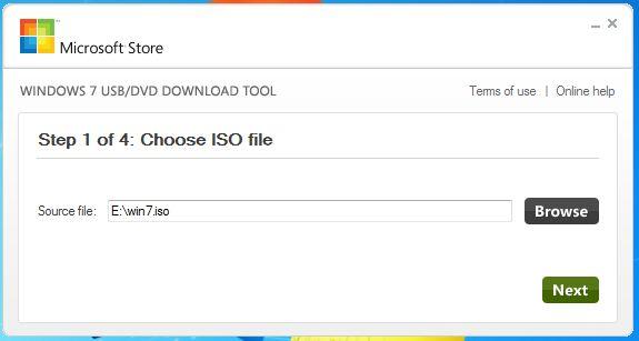 How to make a bootable Windows 7 USB