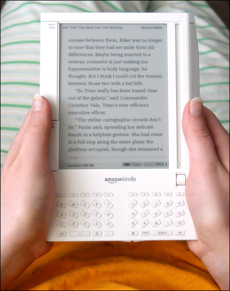 Amazon Kindle Picking the right E Reader