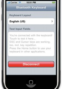 iPhone Keyboard 2 Bluetooth Keyboard for Jailbroken iPhone and iPod Touch