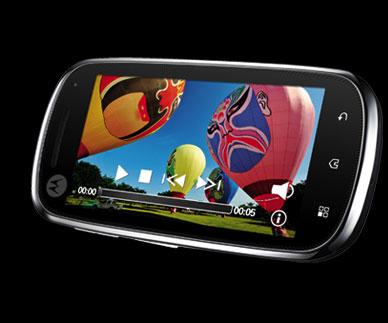 motorola android Motorola announces Sholes and Zeppelin