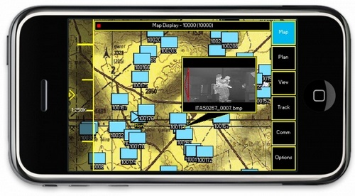 iphone soldiers iPhone apps enter the U.S military
