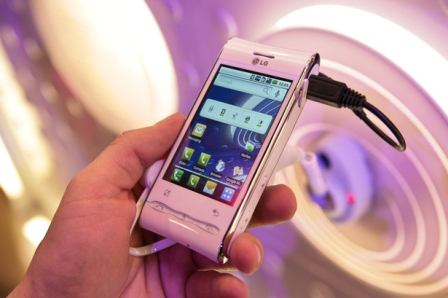 lg gt540 photos 5 LG GT450 Android based Smartphone Announced