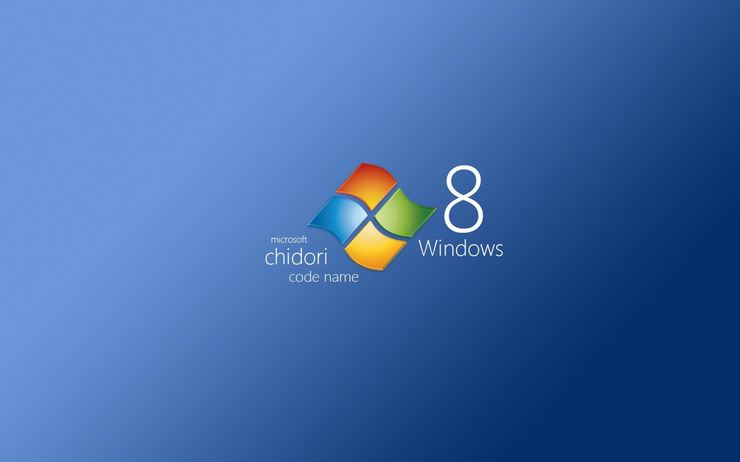 chidori Windows 8 Wallpapers