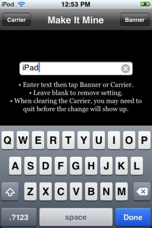 iPad Carrier How to convert iPod Touch into iPad