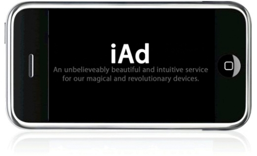 apple iad Apple to Start Mobile Advertisement