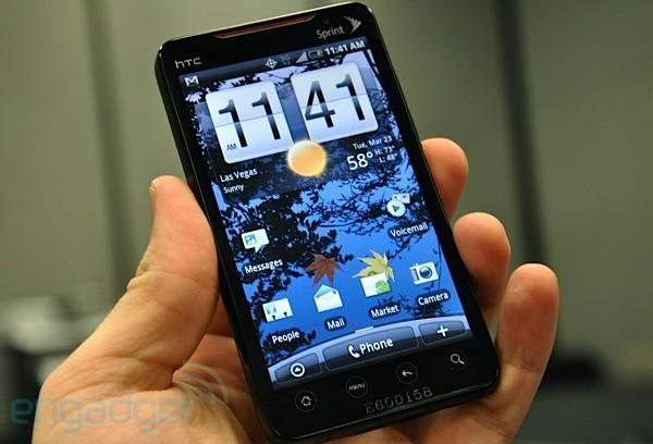 htc evo 4g Sprint announces HTC EVO, the first 4G phone